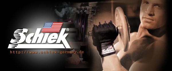 Schiek Sports Germany - Gewichthebergürtel und Trainingsgürtel, Schiek Sport Handschuhe, Schiek Zughilfen, Handgelenkschutz & Sport Bandagen, Schiek Merchendise